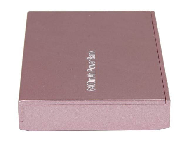 Rosewill CHiC 6,400 mAh Pink External Dual USB Portable Power Bank for $4.99 AC & More @ Newegg.com
