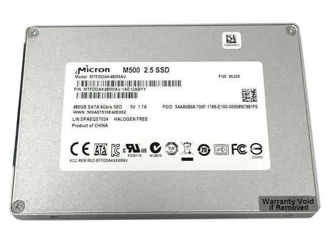 "480 GB Micron M500 2.5"" SATA III MLC Internal OEM Solid State Drive for $105.00 or 3 TB Toshiba 3.5"" SATA III 5900 RPM Internal Desktop AV Hard Drive for $79.99 + FS @ Newegg.com"