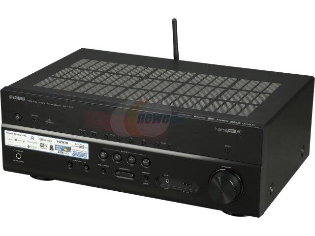 Yamaha RX-V579 7.2-Channel Network AV Receiver w/ Built-In Wi-Fi & Bluetooth for $299.95 AR + S&H @ Newegg.com