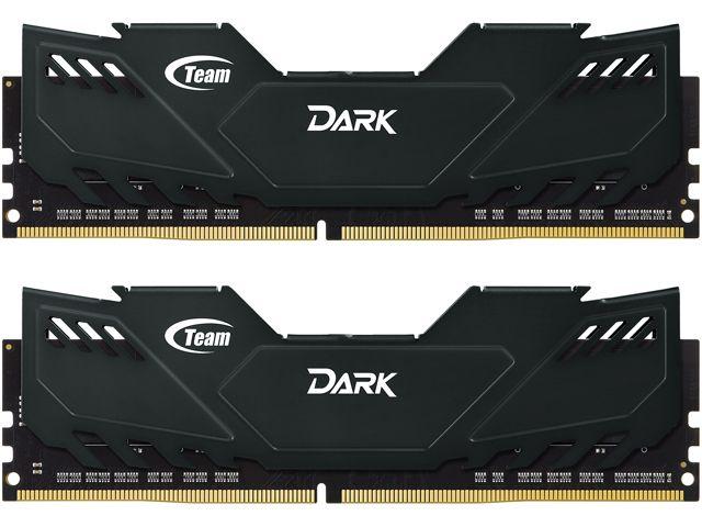 16 GB (2 x 8 GB) Team Dark 288-Pin DDR4 3000 Desktop Memory for $54.99, 16 GB (2 x 8 GB) Crucial 240-Pin ECC Unbuffered DDR3 1600 Server Memory for $78.99 AC & More @ Newegg.com