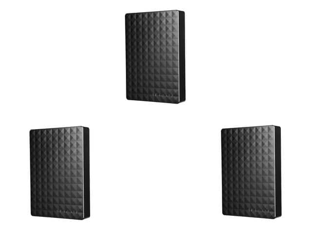 "3-Pack of 4 TB Seagate Expansion Portable USB 3.0 External Hard Drives for $299.99, 480 GB OCZ TRION 150 2.5"" SATA III TLC Internal SSD for $99.99 & More @ Newegg.com"