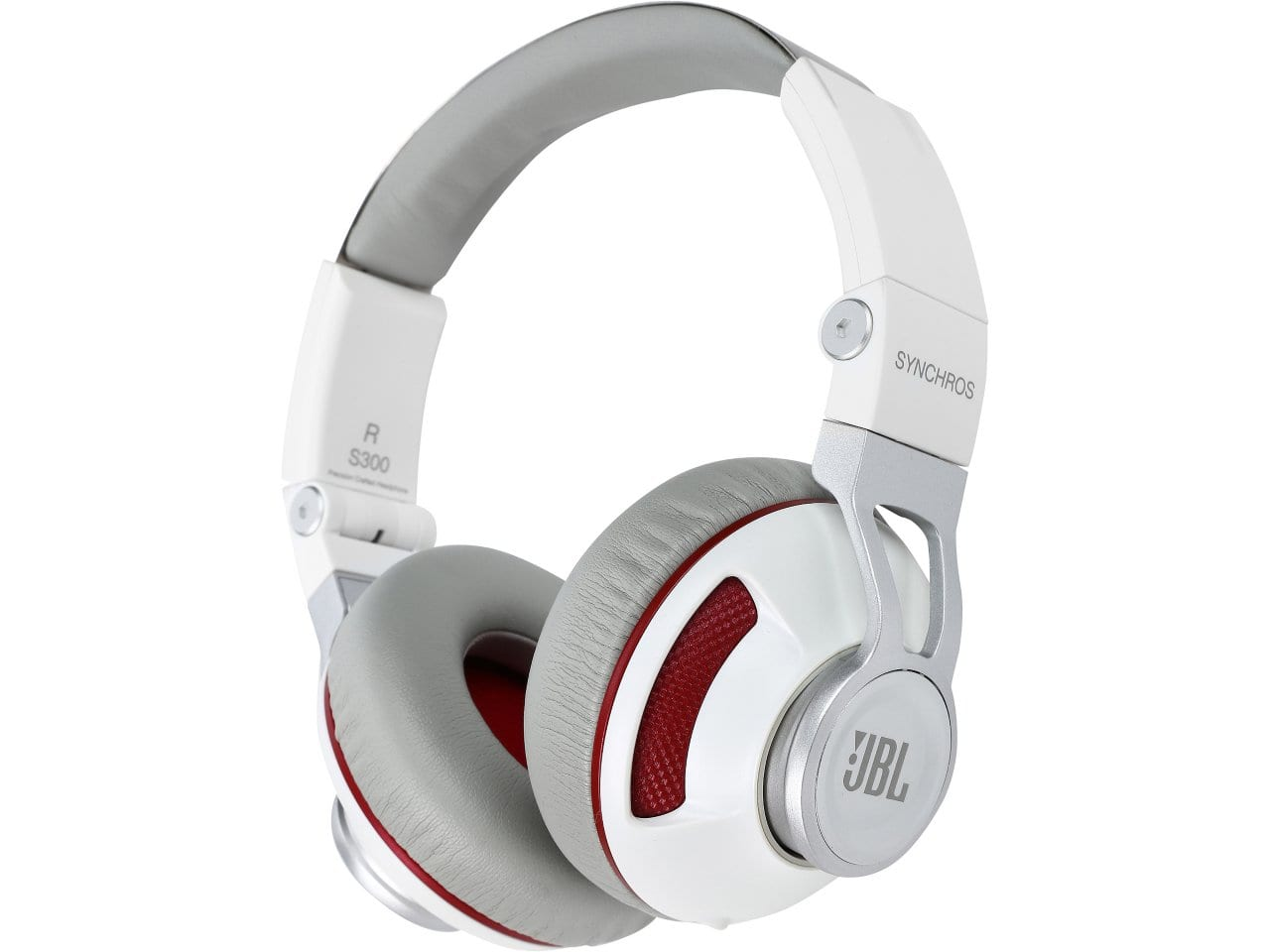 JBL Synchros S300 Premium On-Ear Headphones with Built-In iOS Remote & Microphone (White & Red) for $39.99 + Free Shipping @ Newegg.com