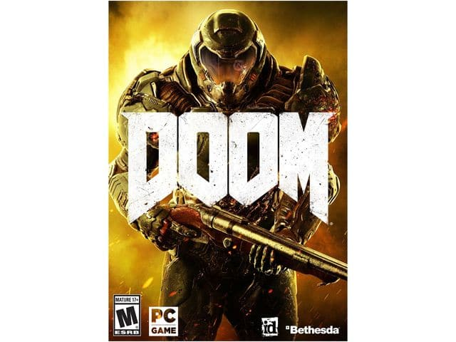 Doom (PC, PS4, Xbox One) For $34.99 AC or Elder Scrolls Online: Tamriel Unlimited for $17.99 AC + S&H @ Newegg.com