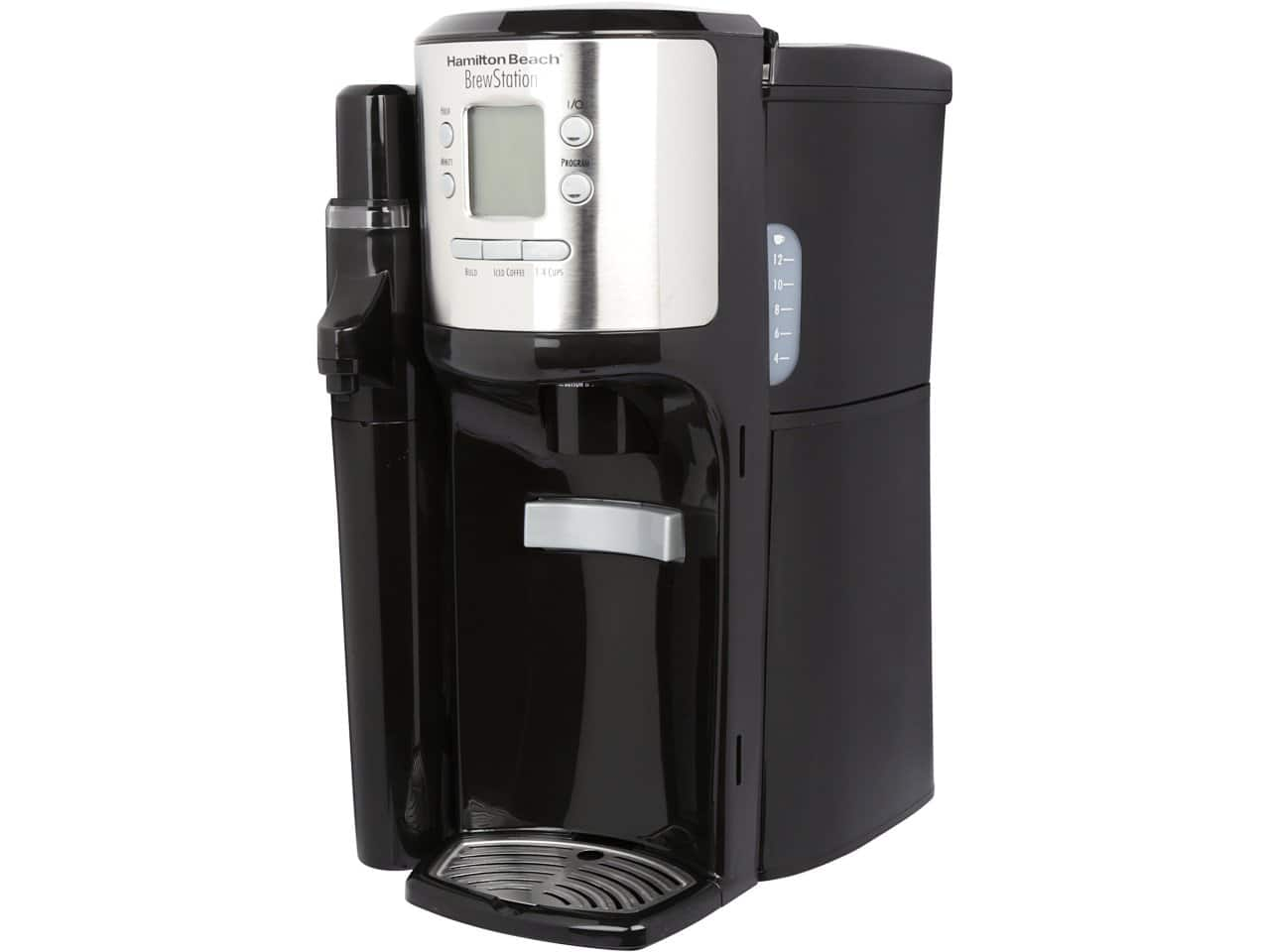 Hamilton Beach Black BrewStation 12-Cup Programmable Dispensing Coffeemaker (49150) for $29.99 AC + Free Shipping @ Newegg.com