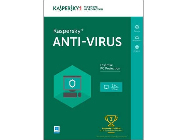 Kaspersky Anti-Virus 2016 (1 PC - Key Card) for Free After Rebate & More + S&H @ Newegg.com