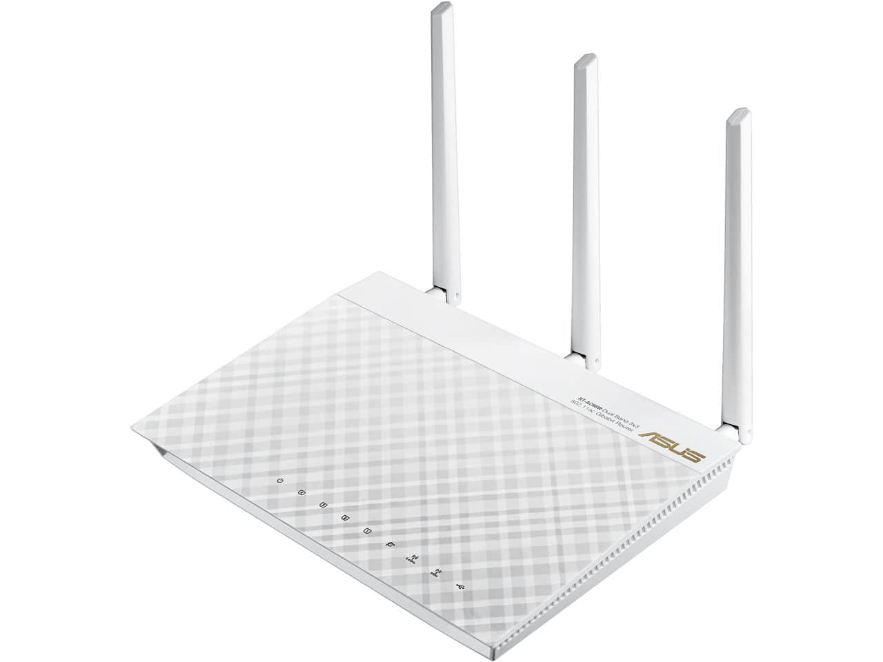 Asus RT-AC66W AC1750 White Dual-Band Wireless Gigabit Router for $79.99 AR, 8-Port TP-LINK TL-SG108 Unmanaged Gigabit Metal Desktop Switch for $17.99 AR & More @ Newegg.com