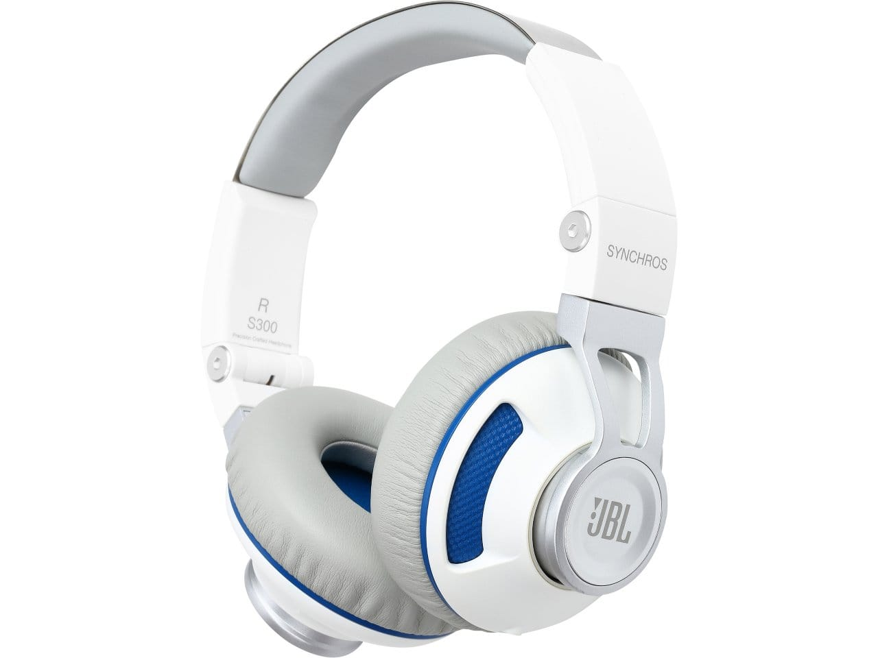 JBL Synchros S300 White & Blue Premium On-Ear Headphones with Built-in Android Remote & Microphone for $34.99 AR + Free Shipping @ Newegg.com