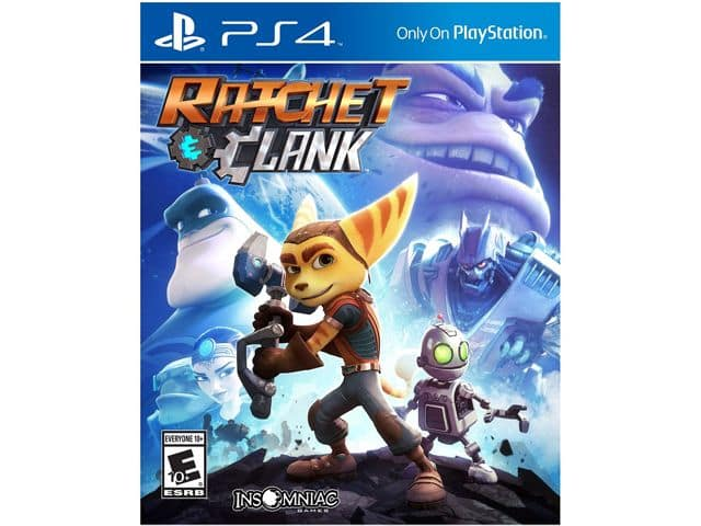 Ratchet & Clank (PS4) for $24.99 AC,  Sony DualShock 4 Wireless Controller (Various Colors) for $45.49 AC & More + S&H @ Newegg.com