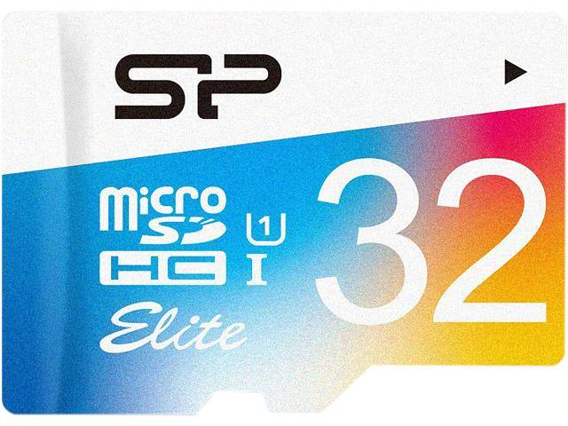 32 GB Silicon Power Elite Class 10 UHS-1 microSDHC Flash Card for $7.99 AC, 3-Pack of 16 GB ADATA DashDrive UV128 USB 3.0 Flash Drives for $9.99 + S&H & More @ Newegg.com