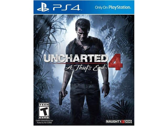 Uncharted 4: A Thief's End (PlayStation 4) + 1-Year Sony PlayStation Plus Membership for $79.99 + Free Shipping @ Newegg.com
