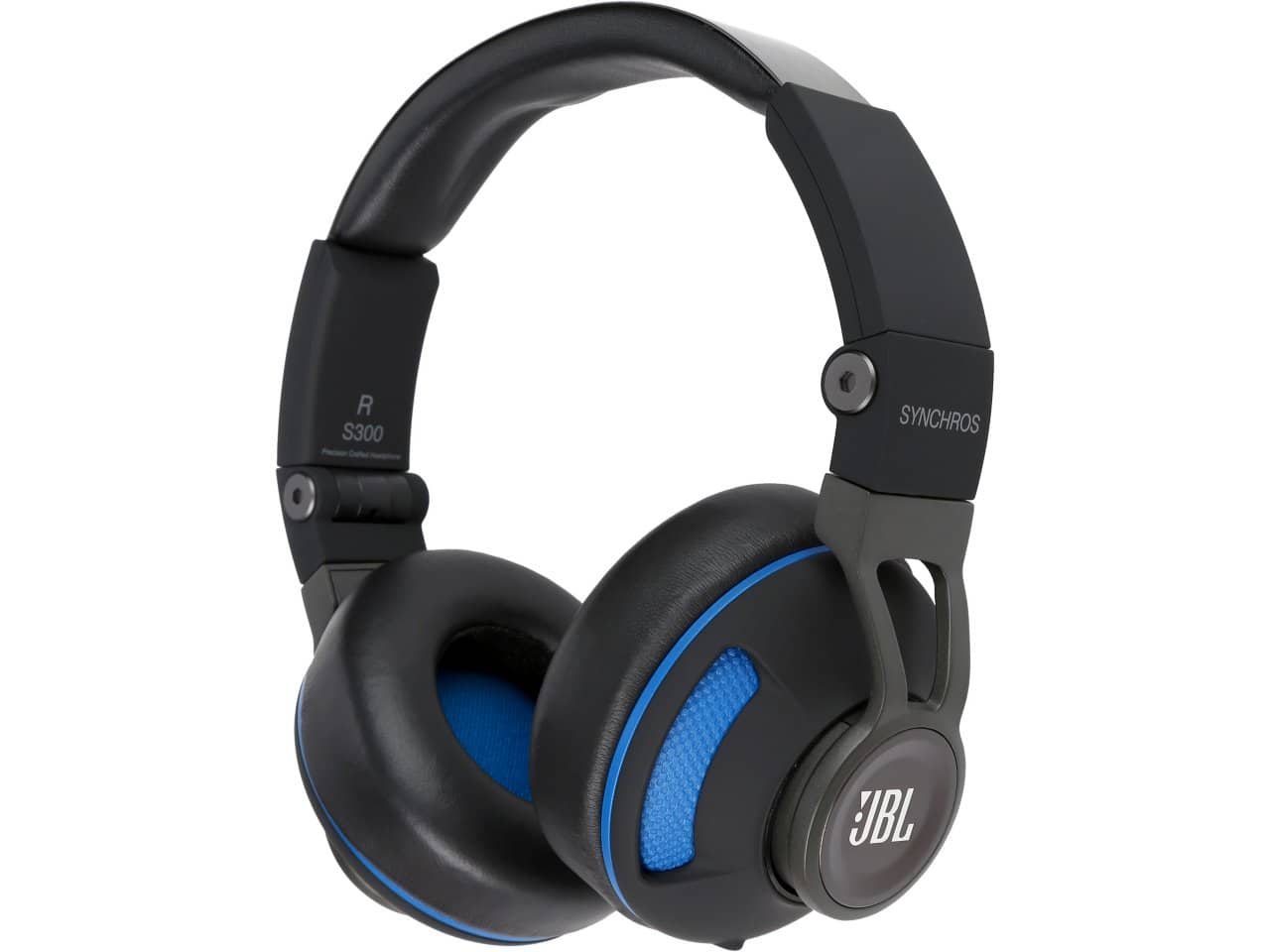 JBL Synchros S300 On-Ear Black & Blue Headphones with Built-In iOS/Android Remote + Microphone for $29.99 AR + Free Shipping @ Newegg.com