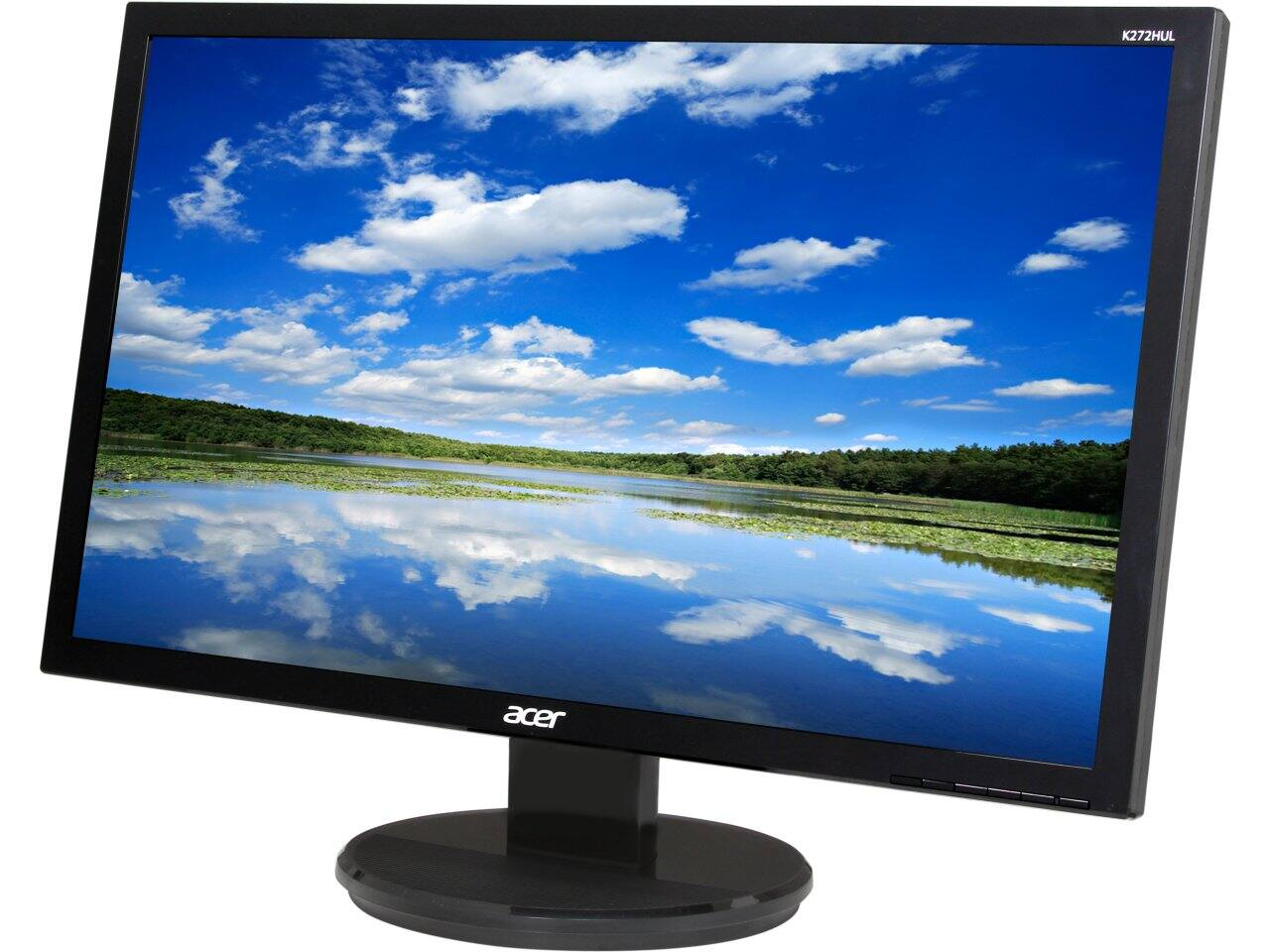 """27"""" Acer K2 Series Black 2560 x 1440 6ms (GTG) IPS Panel HDMI LED Monitor for $244.99 w/ PayPal + S&H & More @ Newegg.com"""