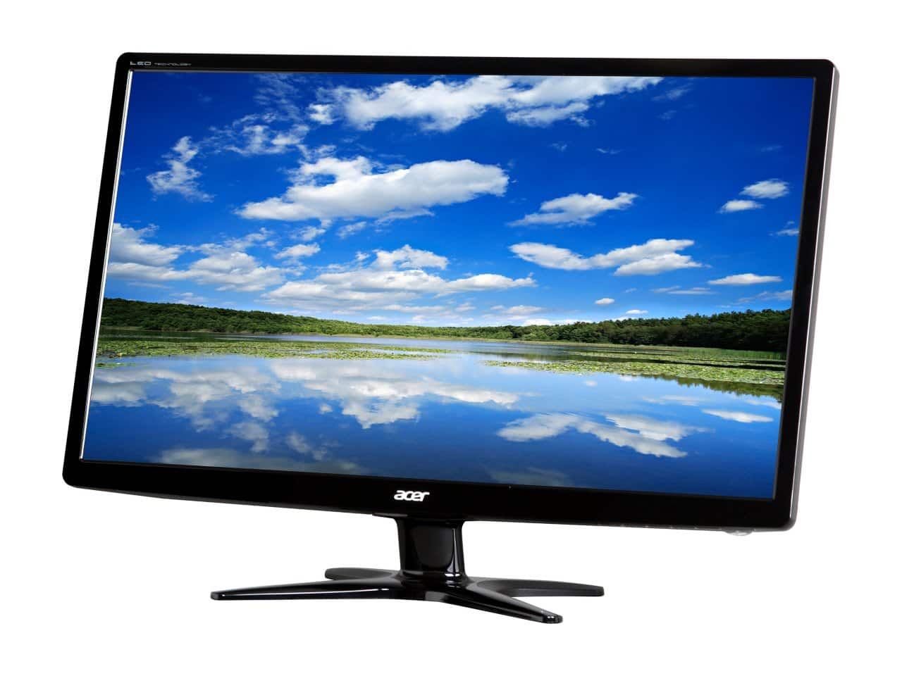 """24"""" Acer G6 Series 1920x1080 5ms TN Panel LED Monitor for $99.99 AC, 27"""" Sceptre E275W-1920 1920x1080 5ms HDMI LED Monitor w/ Speakers for $129.99 AC + S&H & More @ Newegg.com"""