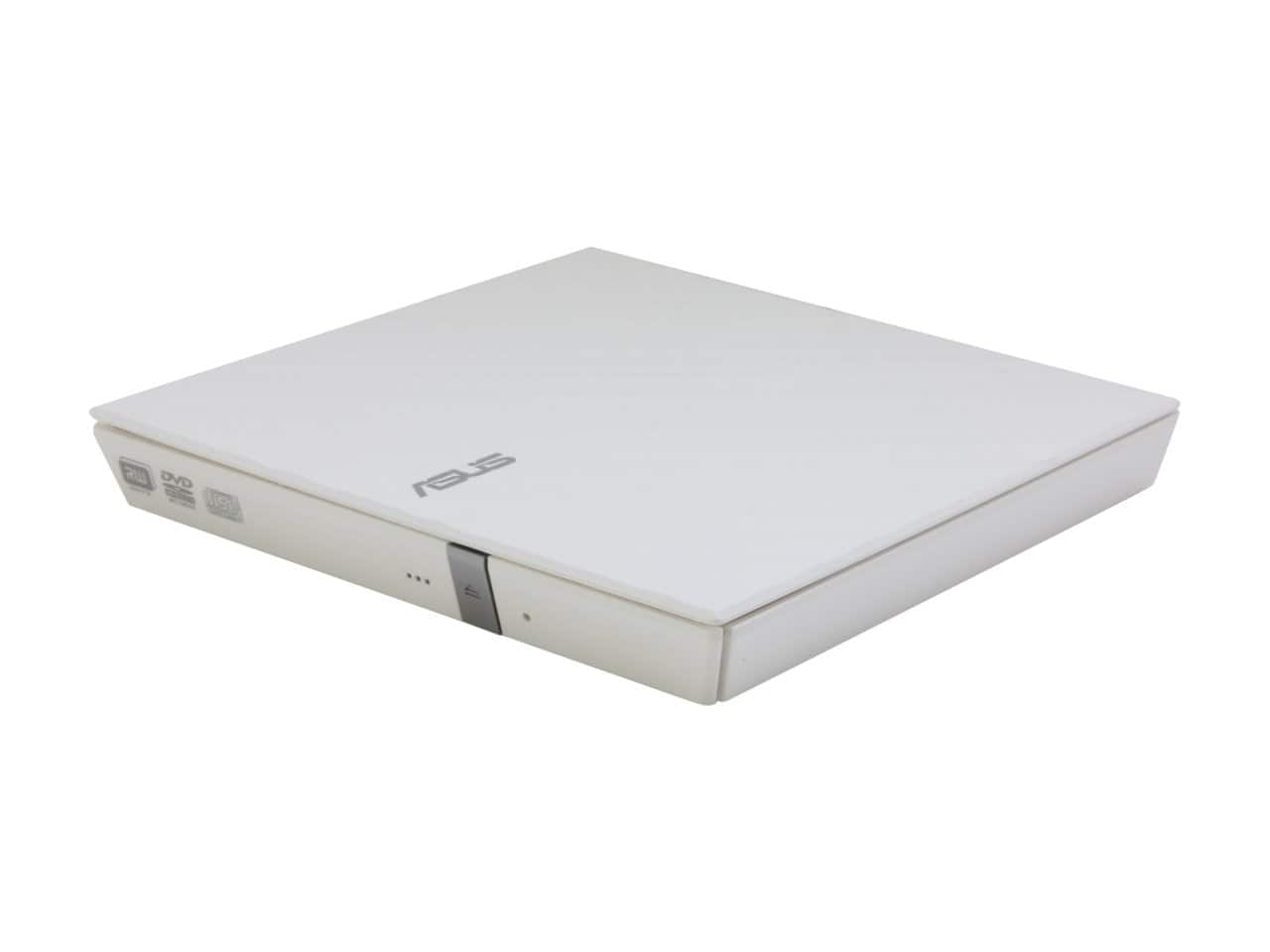 Asus 8x USB 2.0 White External Slim CD/DVD Burner for $9.99 AR or Asus 16x Black Internal SATA Blu-ray Burner for $39.99 AR + S&H & More @ Newegg.com