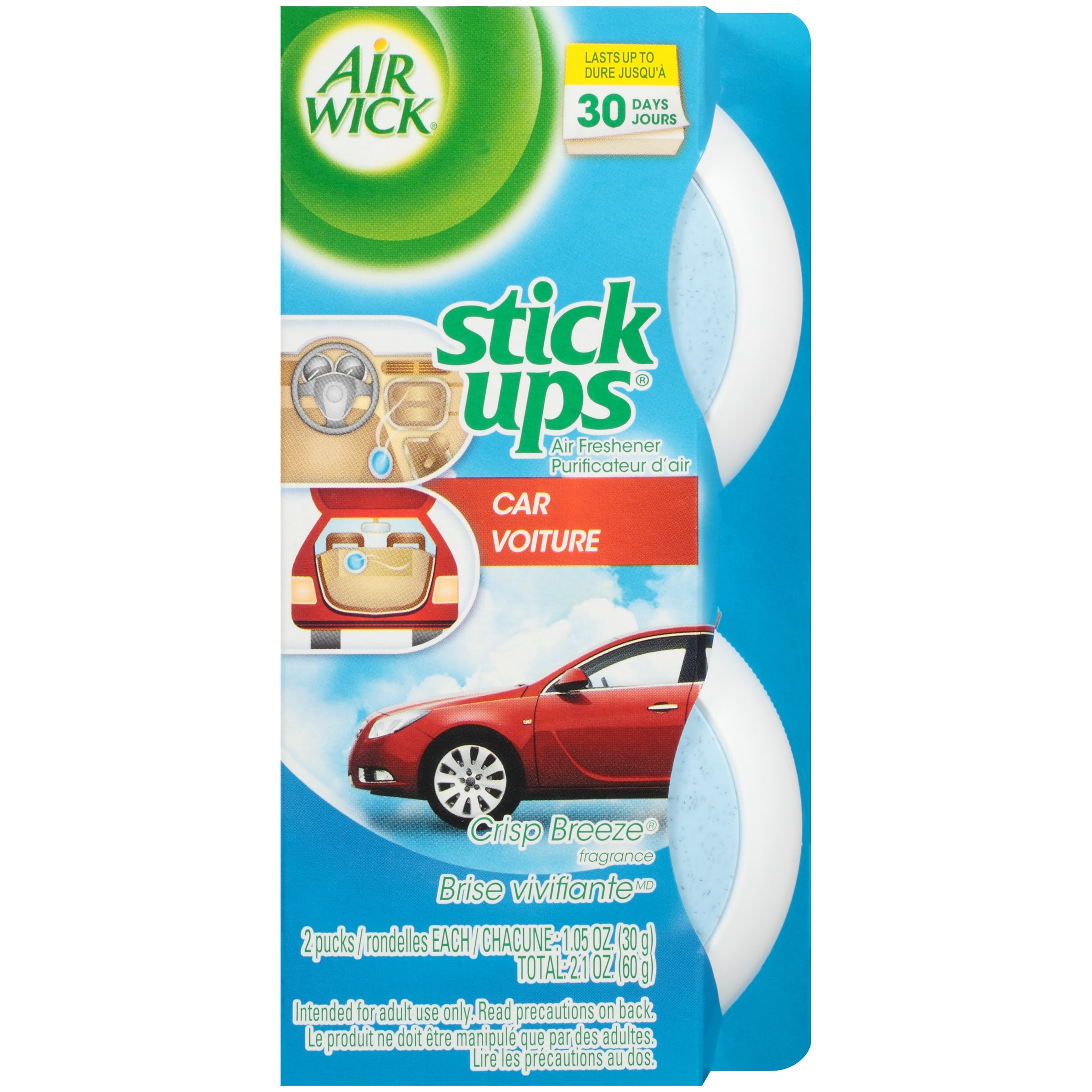 Free Airwick 2.1 oz Stick Ups Air Freshener (Assorted Varieties) After Coupon @ Kmart B&M via iOS or Android App - Must Be Loaded on Friday, 08/05/16 Only!