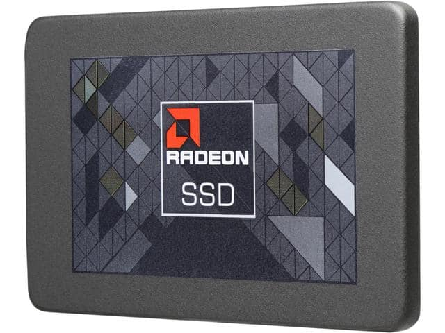 "240 GB AMD Radeon SSD Radeon R3 2.5"" SATA III TLC Internal SSD for $59.99, Refurb. 200 GB Toshiba 2.5"" SATA III MLC Internal Enterprise SSD for $39.99 AC & More @ Newegg.com"