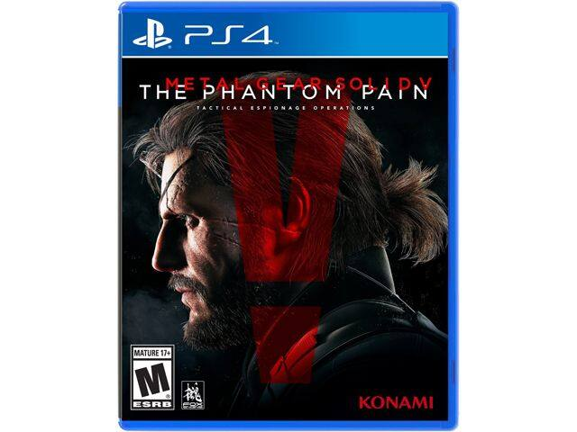 Metal Gear Solid V: Phantom Pain (PS4 or Xbox One) for $18.99 AC or Sony DualShock 4 Magma Red Wireless Controller + 1-Year Sony PlayStation Plus for $79.98 + S&H @ Newegg.com