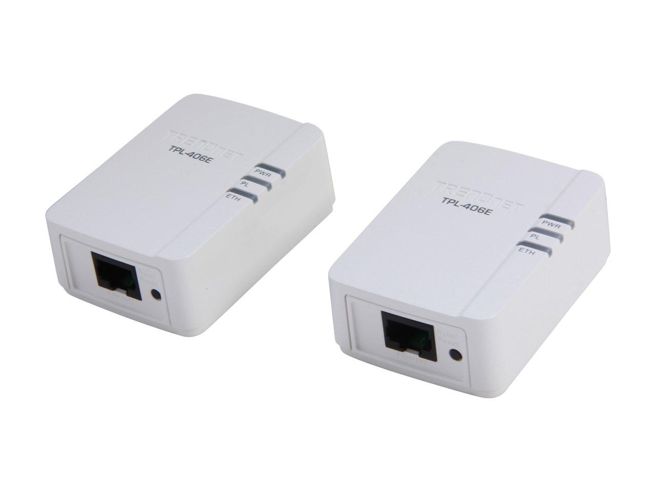 TRENDnet TPL-406E2K Powerline 500 AV Nano Adapter Kit (with 2 Units) for $19.99 AC, Foscam R2 Indoor 1080P FHD IP Camera w/ Night Vision for $107.99 AC & More @ Newegg.com