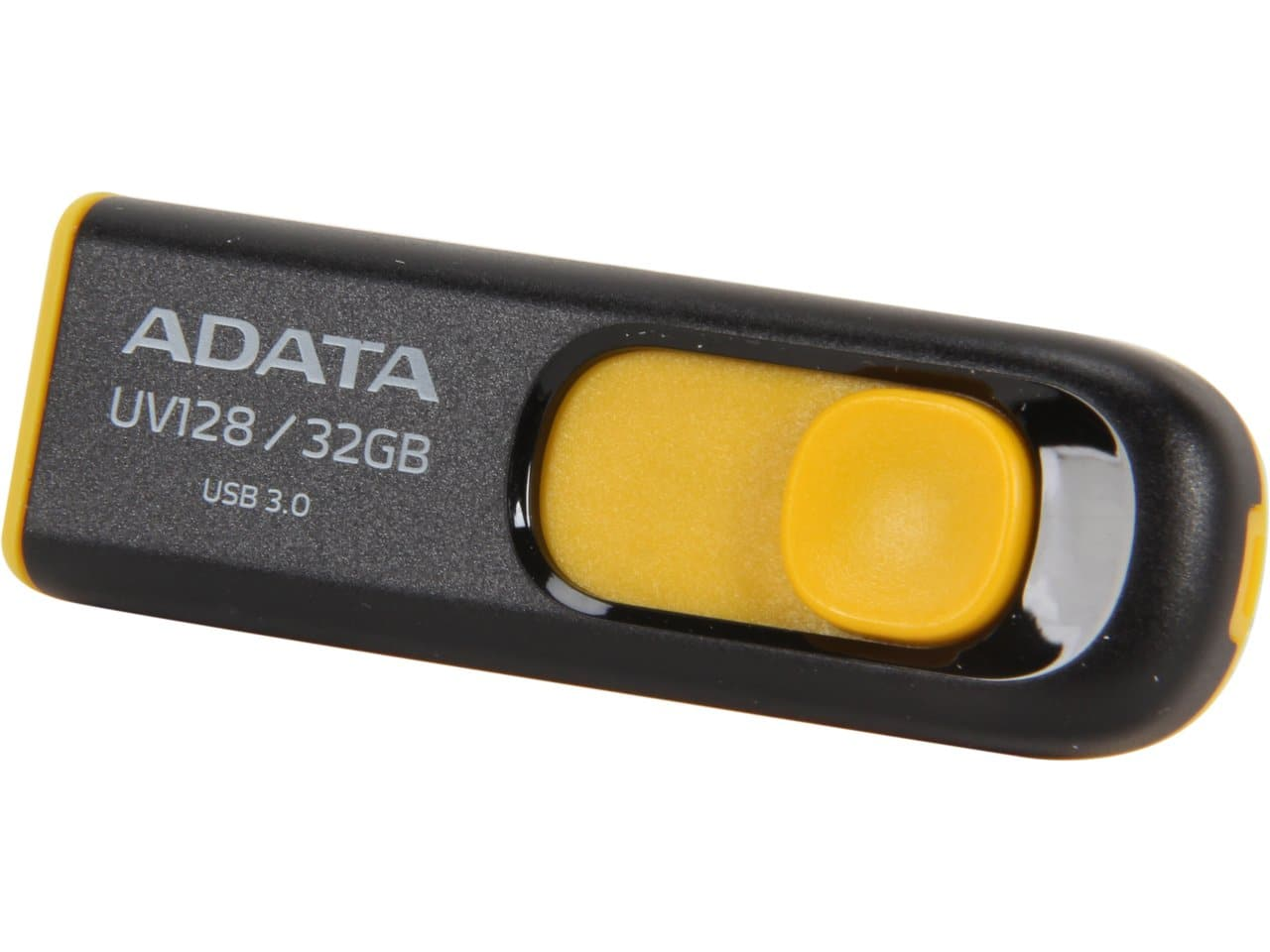 32 GB ADATA DashDrive UV128 Black & Yellow USB 3.0 Flash Drive for $6.99 AC + S&H & More @ Newegg.com