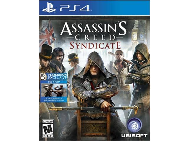 Assassin's Creed Syndicate (PS4) for $16.99 AC or Plantronics Rig Flex 3.5mm Gaming Headset w/ Mic + Tom Clancy's Rainbow Six Siege (XB1) for $39.99 AC + S&H@ Newegg.com
