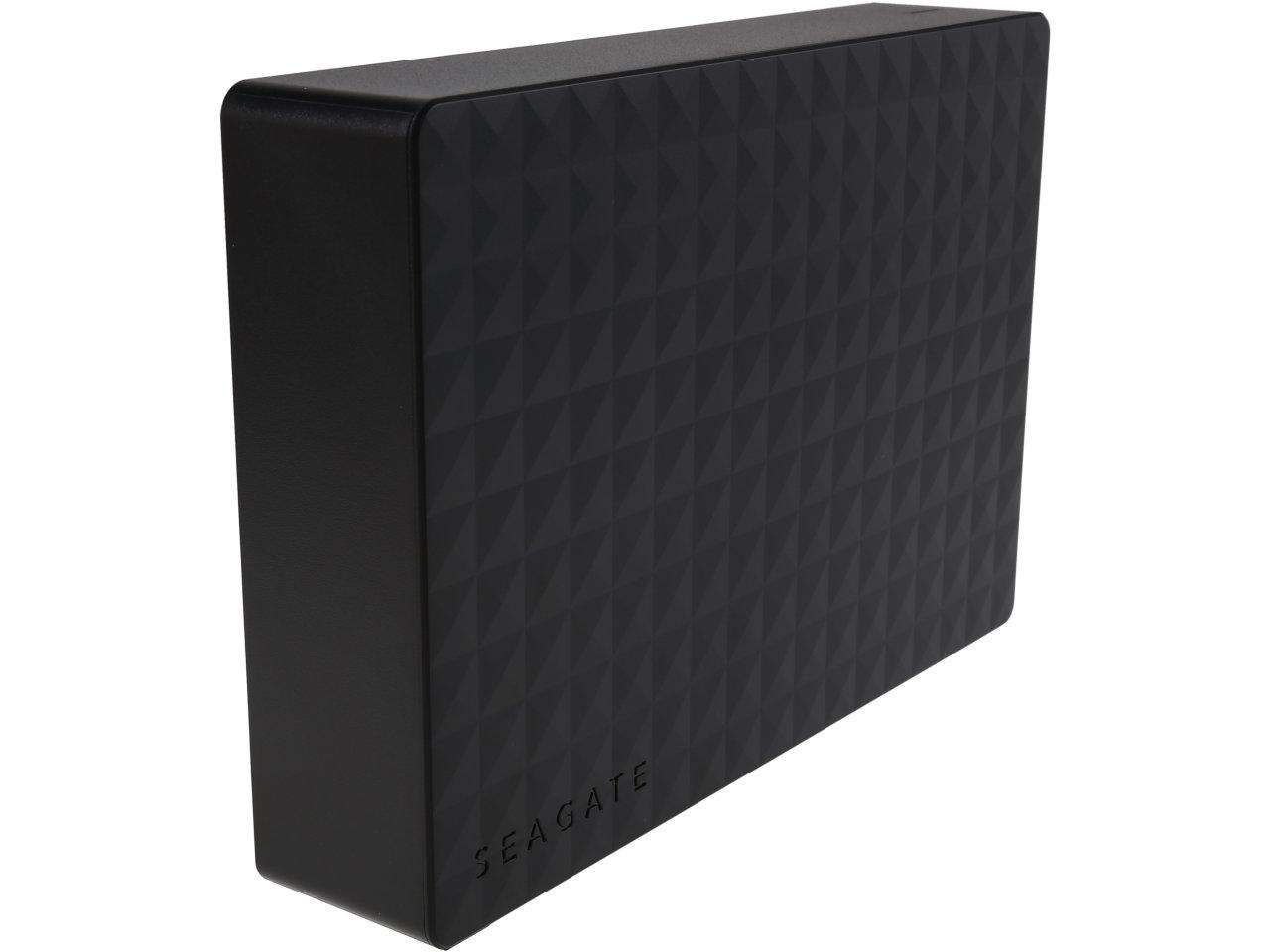 "4 TB Seagate Expansion 3.5"" USB 3.0 Desktop External Hard Drive for $99.99 AC, Refurb. 160 GB Intel 320 Series 2.5"" SATA II MLC Internal SSD for $34.49 & More @ Newegg.com"