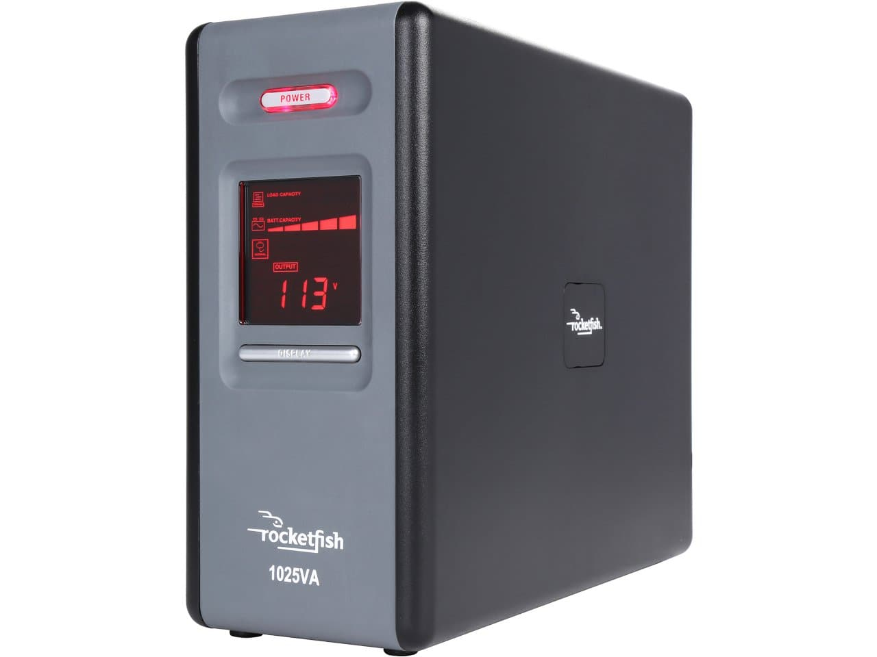 CyberPower Rocketfish 1025 VA (600 Watts) 8-Outlets Simulated Sine Wave Mini-Tower UPS with LCD Display (RF-1025A) for $76.99 + Free Shipping @ Newegg.com