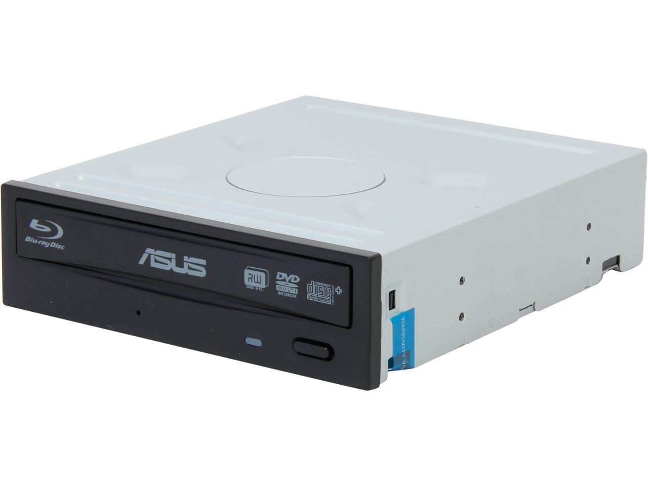 Asus 16x Black Internal SATA Blu-ray Burner for $39.99 AR, Asus USB 3.0 Desktop External 12x Blu-Ray Writer for $47.99 AR (or less) + S&H & More @ Newegg.com