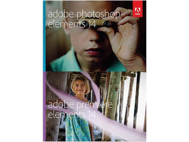 Adobe Photoshop Elements & Premiere Elements 14 (PC & Mac - Digital Download) for $64.99 AC @ Newegg.com