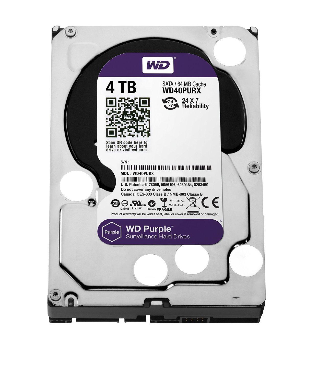 "4 TB WD Purple 3.5"" SATA III 5400 RPM Surveillance HDD for $129.99 AC, 6 TB Seagate NAS HDD 3.5"" SATA III 7200 RPM Internal HDD for $219.99 AC & More @ Newegg.com"
