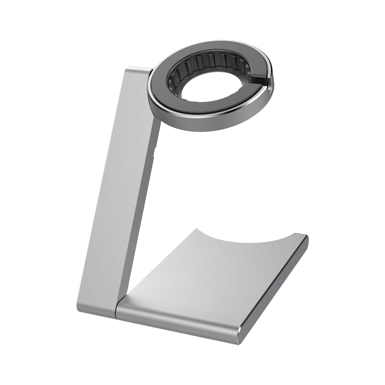 iClever Aluminum Foldable Apple Watch Stand w/ Adjustable Viewing Angle for $7.99 AC or iClever Aluminum 45° Angle Apple Watch Stand for $9.99 AC + FSSS or FS w/ Prime @ Amazon.com