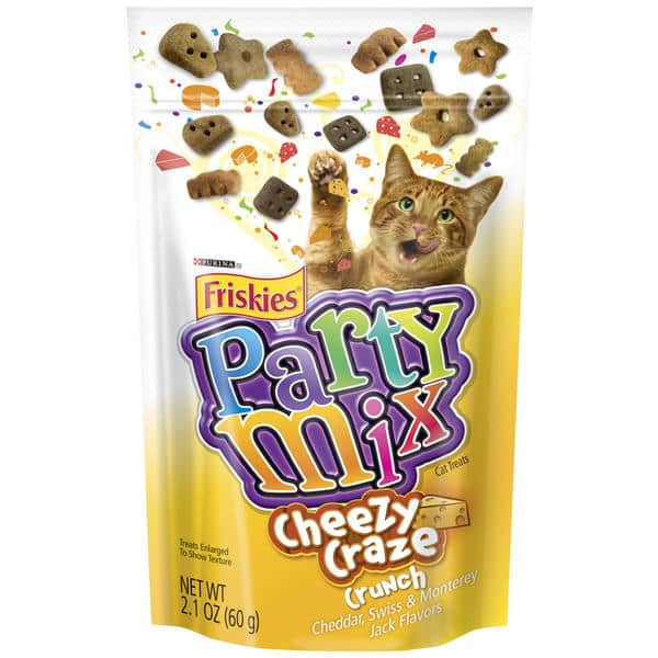 Free Friskies Treats Party Mix 2.1 Oz. Bag (Assorted Varieties) After Coupon @ Kmart B&M via iOS or Android App - Must Be Loaded on Friday, 09/09/16 Only