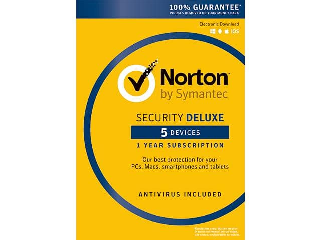 Symantec Norton Security with Antivirus Deluxe (5 Devices) for $19.99 AC, Adobe CC Photo Plan (Photoshop CC + Lightroom) 12-Month Prepaid Membership for $94.88 AC @ Newegg.com