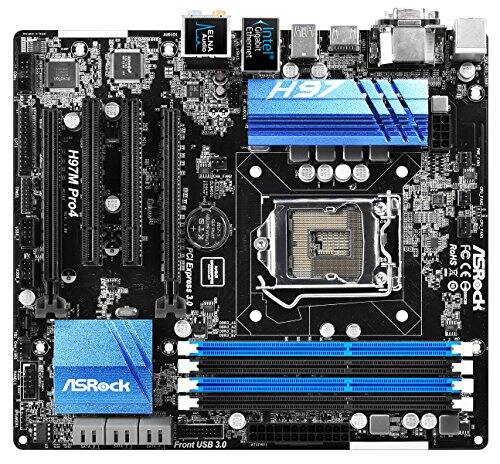 PC Components: ASRock H97M Pro4 LGA 1150 Intel H97 Micro ATX Motherboard for $54.99 AR, XFX Radeon RX 460 4 GB 128-Bit GDDR5 PCI-E 3.0 Video Card for $119.99 AR & More @ Newegg.com