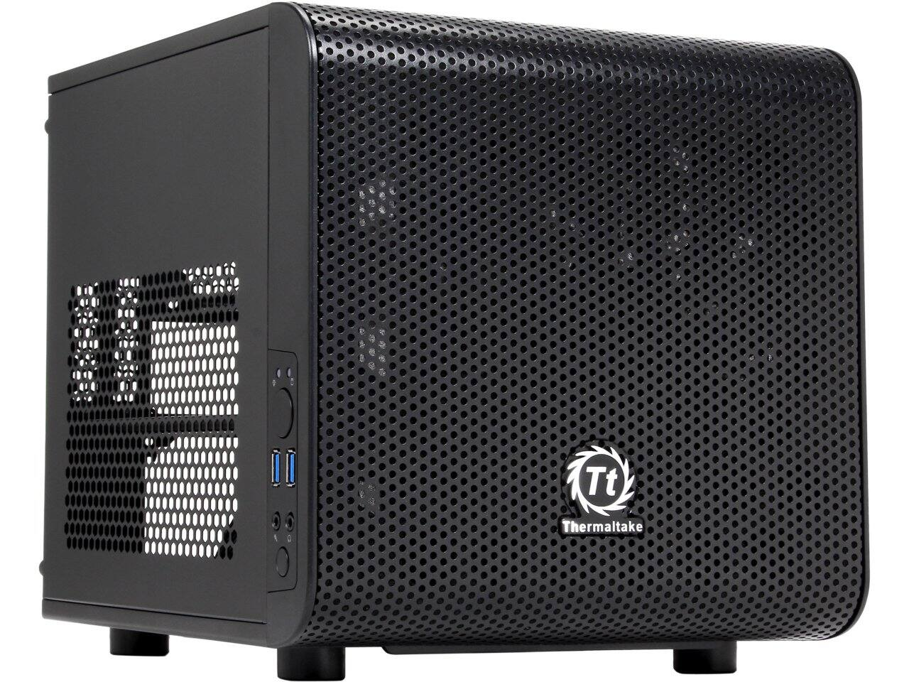 Thermaltake Core V1 Extreme Mini-ITX Cube Computer Case for $29.99 AR or Phanteks Eclipse Satin Black Steel Windowed ATX Mid Tower Case for $54.99 AR + Free Shipping  @ Newegg.com