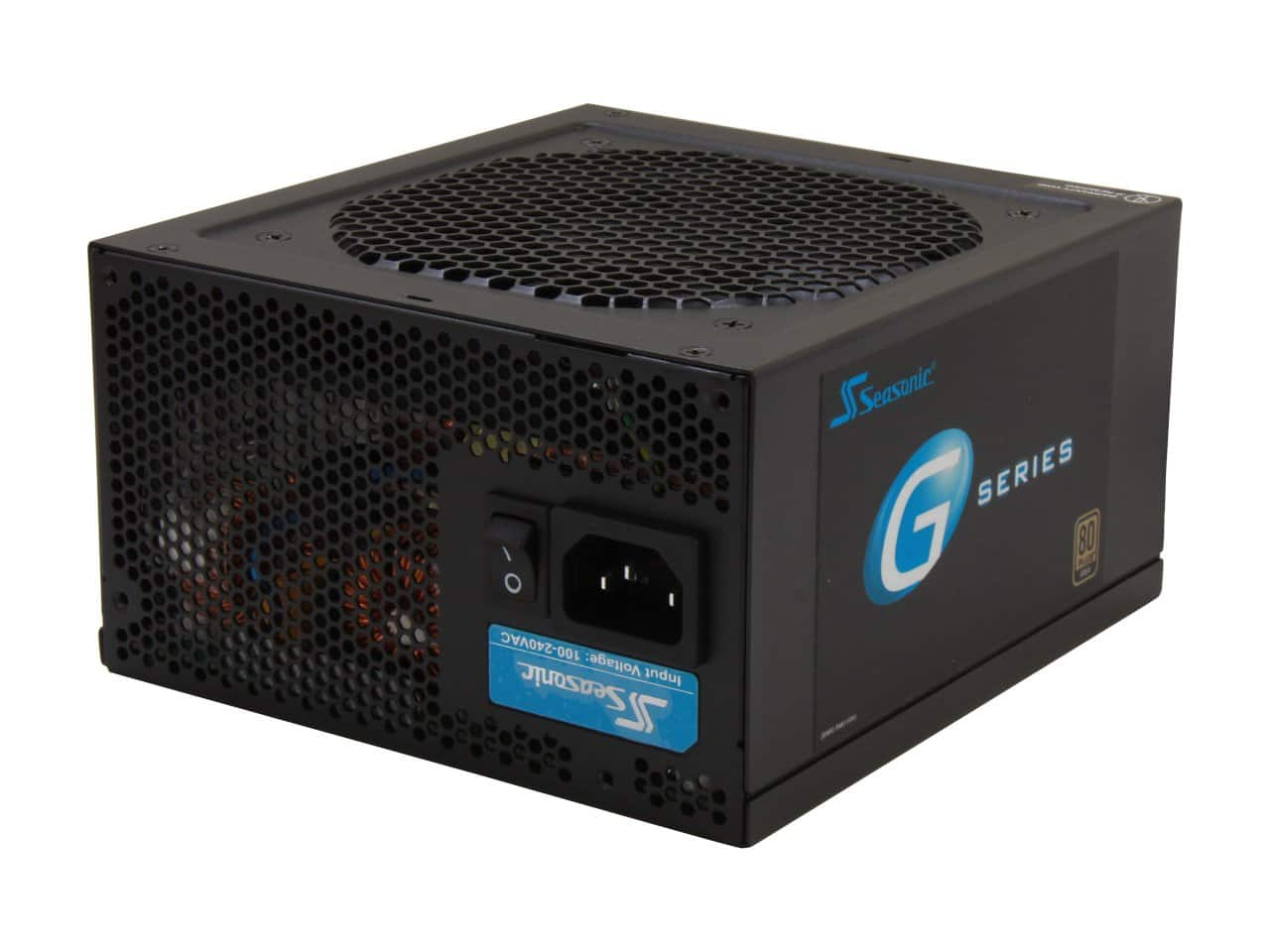 550 Watt SeaSonic G550 80 Plus Gold Certified Semi-Modular Active PFC Power Supply for $58.99 AR + Free Shipping @ Newegg.com
