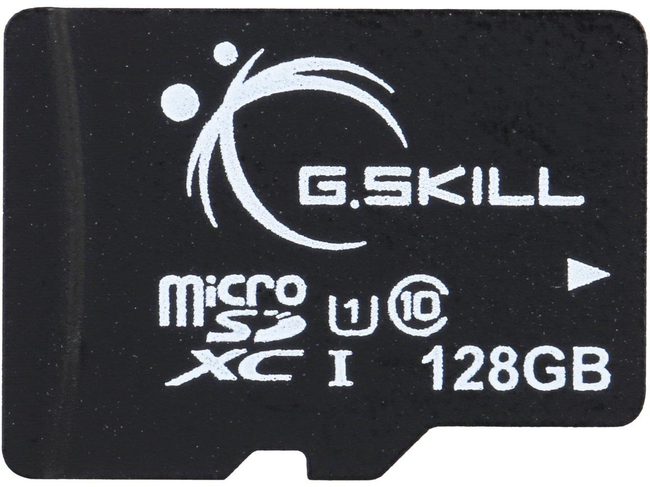 128 GB G.Skill Class 10 UHS-1 microSDXC Flash Card for $29.99 AC, 128 GB SanDisk Ultra Flair CZ73 USB 3.0 Flash Drive for $23.99 AC + S&H & More @ Newegg.com