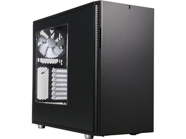 Fractal Design Define R5 Black Window Silent ATX Mid-Tower Computer Case for $89.99 AR + Free Shipping @ Newegg.com