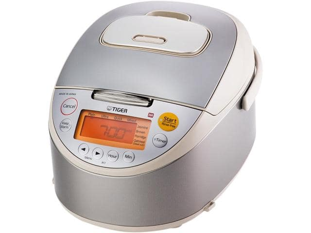 Tiger JKT-B10U 5.5 Cups Induction Heating Rice Cooker and Warmer for $139.99 AC + Free Shipping @ Newegg.com