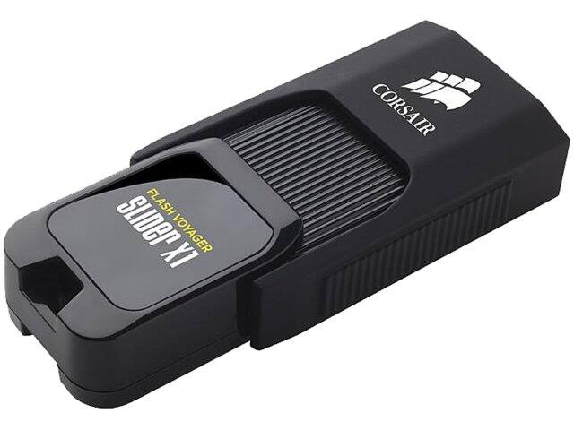 128 GB Corsair Flash Voyager Slider X1 USB 3.0 Flash Drive for $22.99 AC, 32 GB G.Skill Class 10 UHS-1 microSDHC Flash Card for $6.99 AC + S&H & More @ Newegg.com