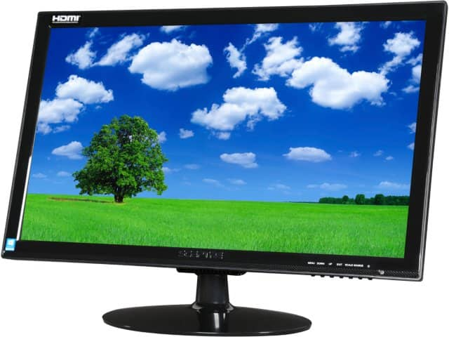 """24"""" Sceptre E248W-1920 1920x1080 5ms HDMI LED Monitor w/ Speakers for $99.99 (or less), Refurb. 21.5"""" Samsung SD300 1920x1080 5ms TN LED Monitor for $64.99 & More @ Newegg.com"""