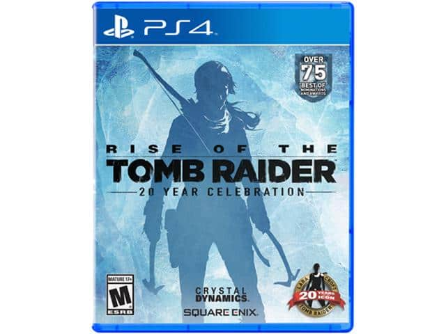 Rise of the Tomb Raider: 20 Year Celebration (PS4) for $46.99 AC, Gears of War 4: Standard Edition or Mafia III Xbox One (Digital Codes) for $49.99 AC & More @ Newegg.com