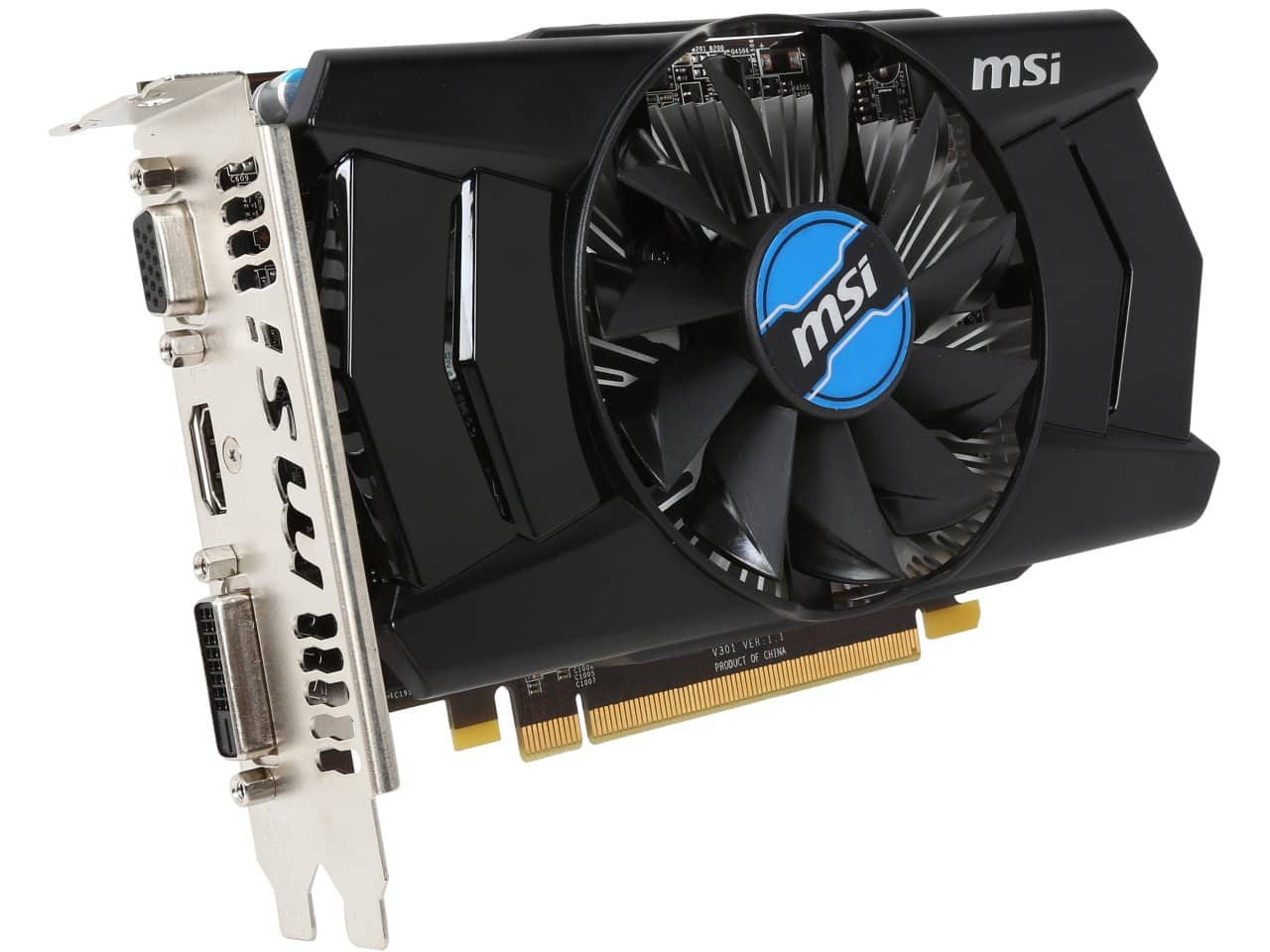 MSI Radeon R7 250 2 GB 128-Bit DDR3 PCI-E 3.0 Video Card for $39.99 AR or Brother DCP-L2540DW 2400x600 DPI Wireless Monochrome Multifunction Laser Printer for $99.99 @ Newegg.com