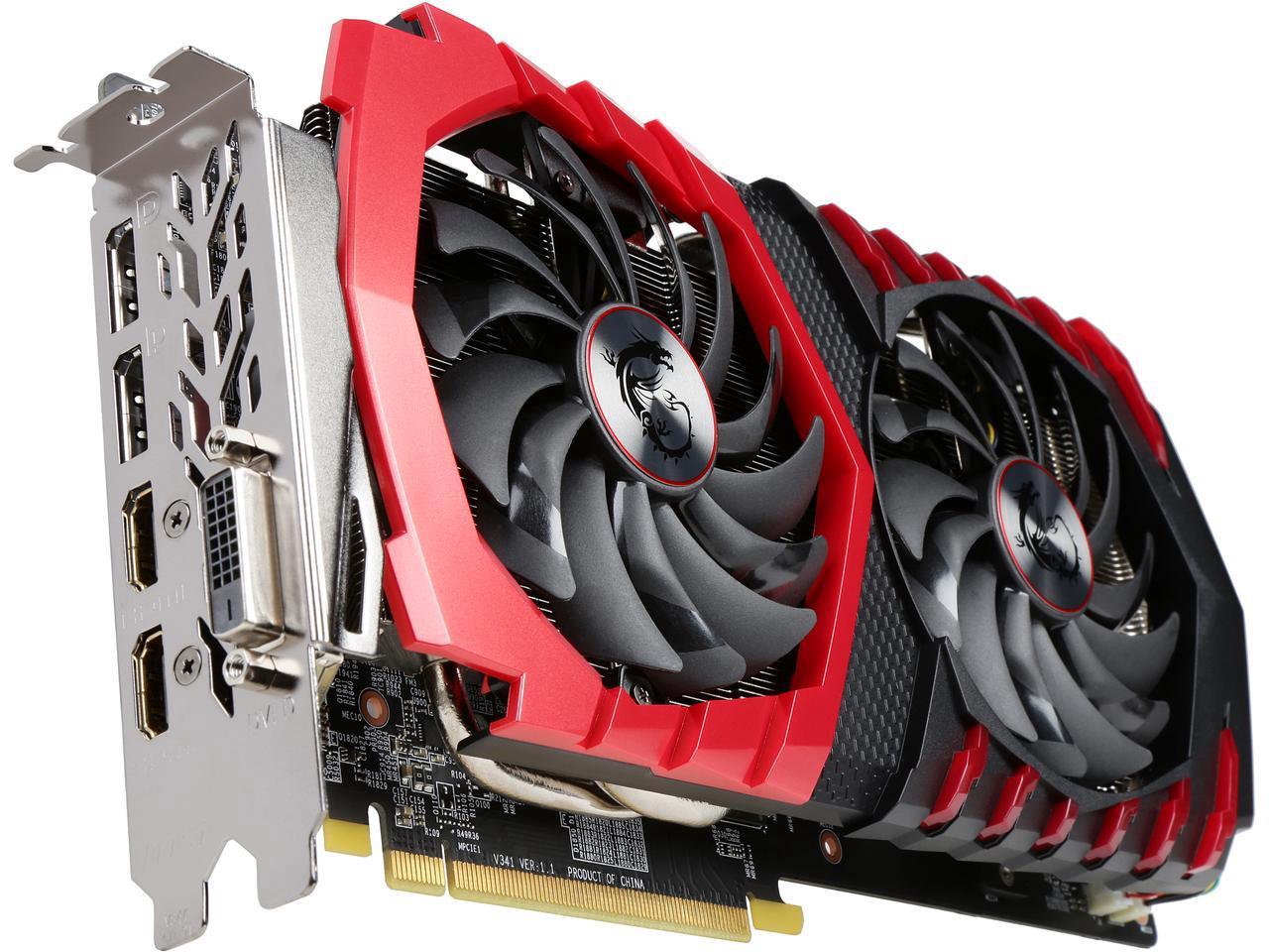 MSI Radeon RX 470 Gaming X Edition 8 GB 256-Bit GDDR5 PCI-Express 3.0 Video Card + Hitman (PC) for $164.99 AR + Free Shipping @ Newegg.com