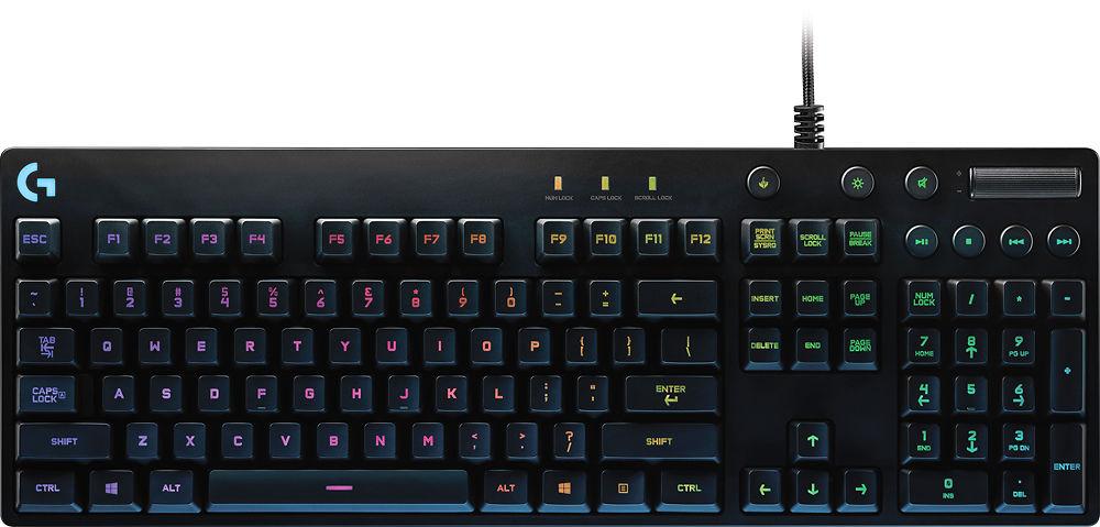 eBay App: Logitech G810 Orion RGB Spectrum Mechanical Gaming Keyboard - $64.99