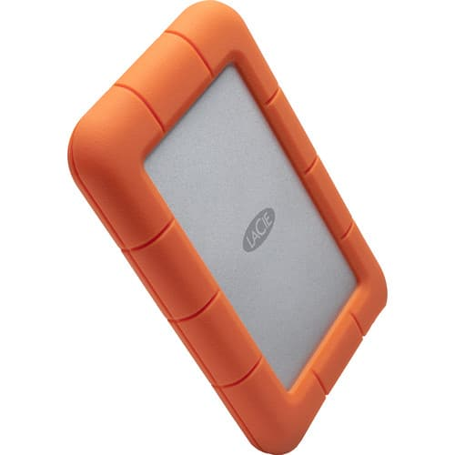 Lacie Rugged 5TB Mini USB 3.0 Portable Hard Drive $119+FS @ B&H