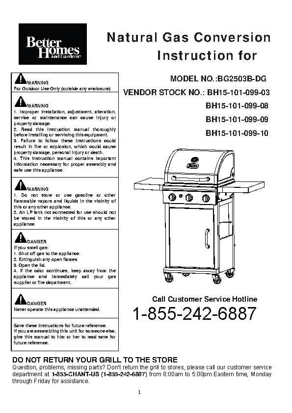 Inexpensive Natural Gas Grill