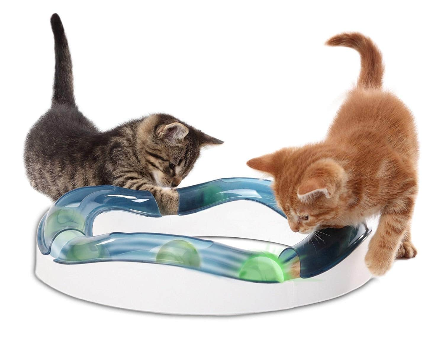 Cat Toys & Supplies: Fat Cat Kitty Hoots 15in Catnip Tail Chaser $2.42, Catit Design Senses Speed Circuit $5.17, Petmate Jumbo Hooded Litter Pan $13.65 & Many More - FS w/ Prime