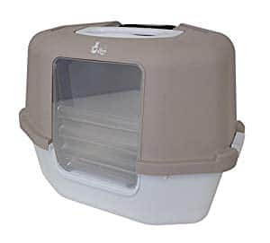 Hooded Litter Boxes / Pans w/ Doors: Catit Cat Love Space Saver Corner Box $12.22, Van Ness Enclosed Pan with Door Large $8.99 and More - Free Shipping or Pickup