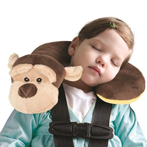 Animal Planet Neck Support Travel Pillow for Kids, Monkey $5.00 FS w/ Prime