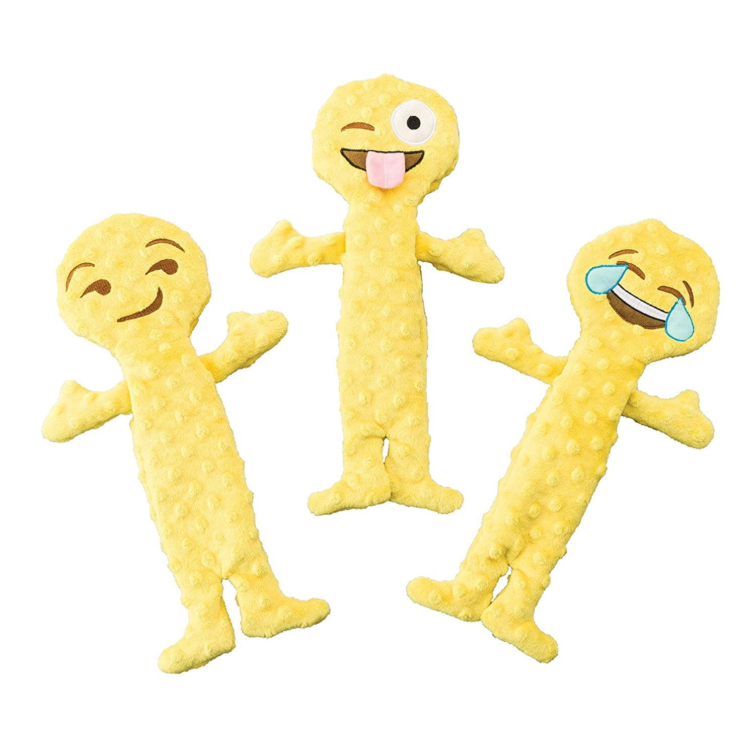 SPOT Ethical Pet Skinneeez Stuffingless Dog Toys - 14in Emoji $1.77, 24in Flying Squirrel $2.36 and More - FS w/ Prime